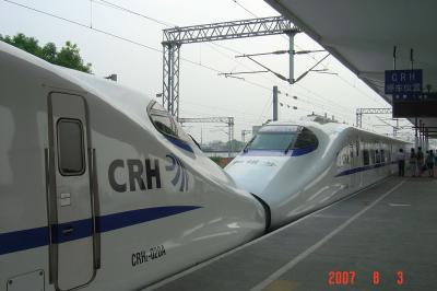 搭動車(火車),上海二日遊3(96.8.12)