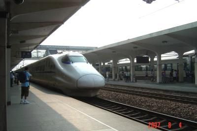 搭動車(火車),上海二日遊15(96.8.12)
