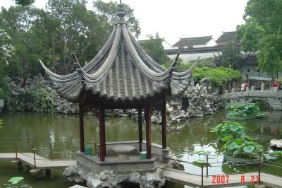 蘇州上海行(8/21):蘇州園林和市區1(96.8.29)