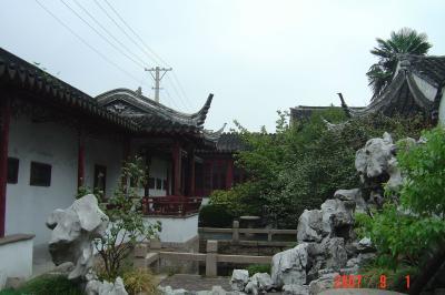 蘇州半日遊:吃燒餅+逛曲園+滴水坊午餐5(96.9.1)