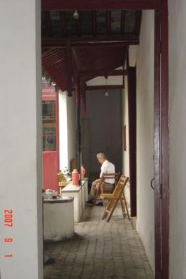 蘇州半日遊:吃燒餅+逛曲園+滴水坊午餐13(96.9.1)