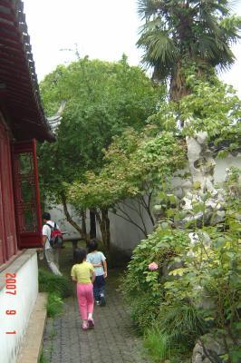 蘇州半日遊:吃燒餅+逛曲園+滴水坊午餐21(96.9.1)