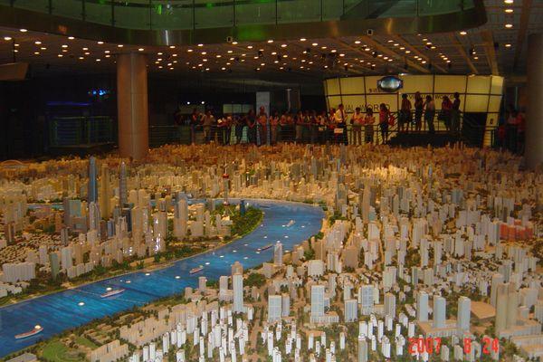 蘇州上海行(8/24):上海城市規劃展示館+外灘+新天地7(96.9.18)