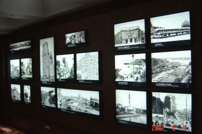 蘇州上海行(8/24):上海城市規劃展示館+外灘+新天地8(96.9.18)