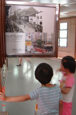 蘇州上海行(8/24):上海城市規劃展示館+外灘+新天地9(96.9.18)