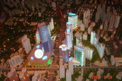 蘇州上海行(8/24):上海城市規劃展示館+外灘+新天地14(96.9.18)