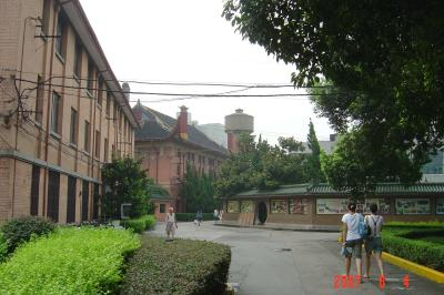 蘇州上海行(8/26):華東政法大學+搭磁浮準備回家6(96.9.22)
