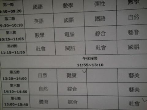 [小三]新學期新鮮事(100.9.6)