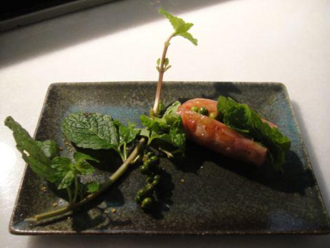 廚房之歌 ~ 薄荷香腸(101.1.16)