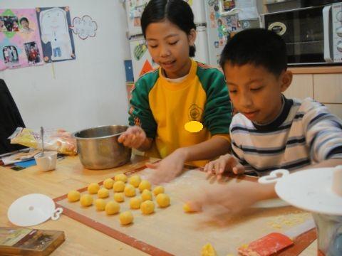 廚房之歌 ~ 不列塔尼蛋黃餅(101.1.17)