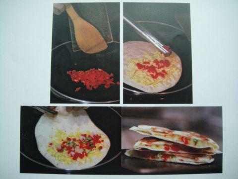 墨西哥菜 ~ QESADILLAS(101.6.7)