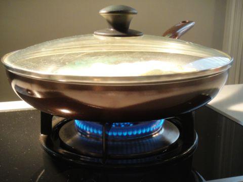 用平底鍋煎烤佛卡夏麵包(101.6.17)