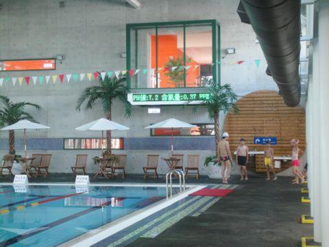 [小三]我的暑期安親班 ~ 游泳課開張(101.7.9)