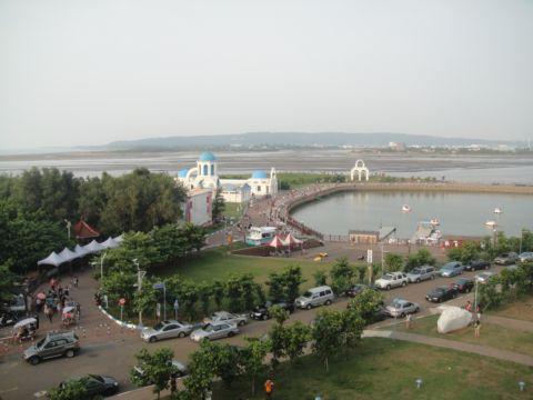 周末的南寮漁港(101.8.9)