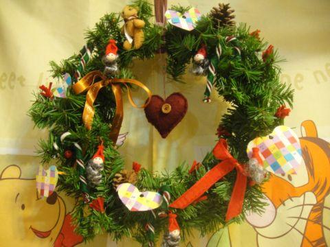 裝飾聖誕門環(101.12.20)