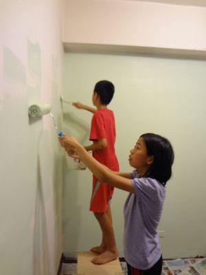 暑假第一天:湯姆刷油漆(102.6.29)