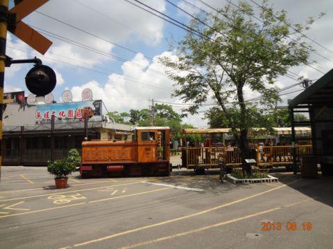 蒜頭糖廠,無緣的小火車(102.8.20)