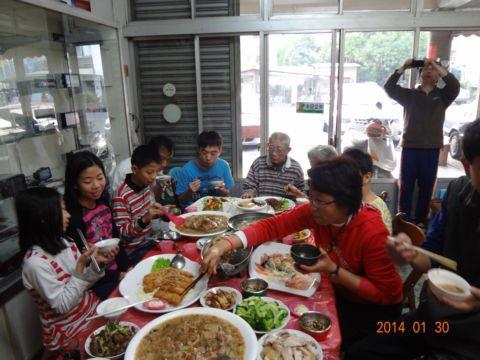 年夜飯(103.1.30)