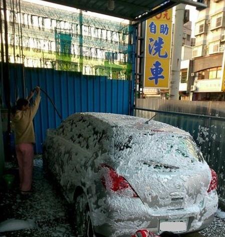 周末洗車日(103.2.22)