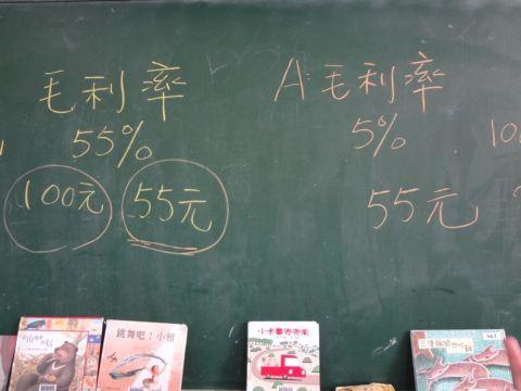 [小五]說故事時間 ~ 毛利率(103.6.6)