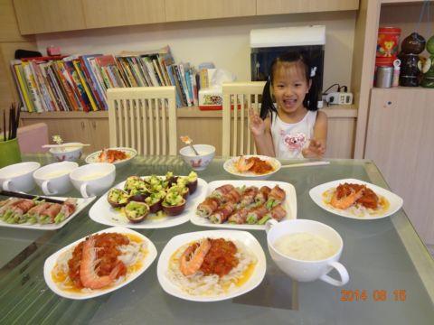 夏日裡的小聚餐(103.8.15)