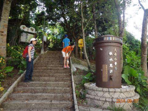 挑戰天母水管路步道(103.9.7)