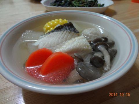 五行魚片湯(103.10.15)