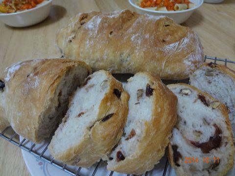 分兩階段做麵包(103.10.22)