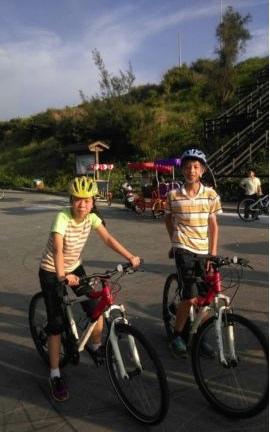 南寮騎腳踏車(104.5.16)