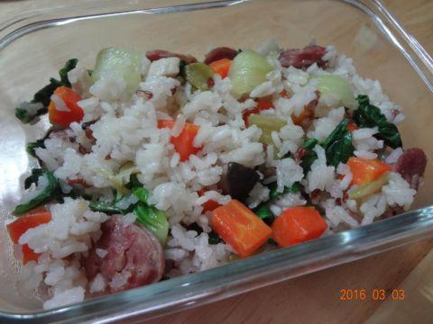 青江菜菜飯(105.3.3)