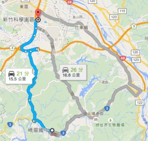 練騎:園區管理局 ~ 峨眉國中(105.4.30)
