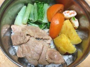 一周晚餐 ~ 堅持一學期(105.12.30)