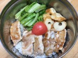 一周晚餐 ~ 學期末的香雞排(106.1.6)