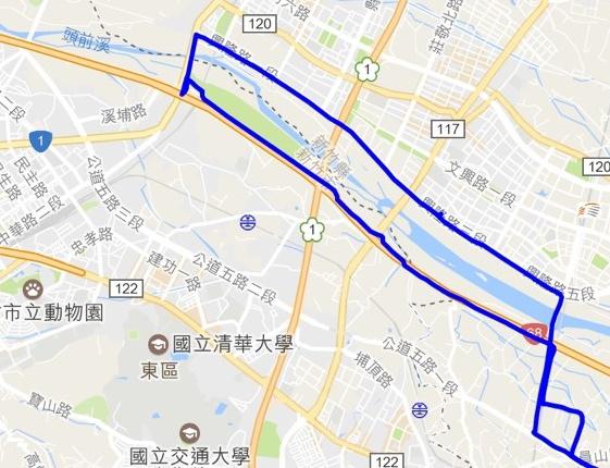 練騎:河濱自行車道練體力(106.2.27)
