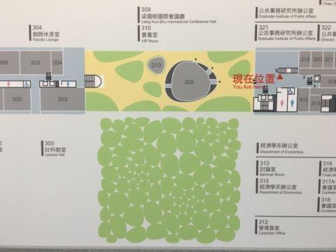 伊東建築師回訪台大社科院(106.4.11)