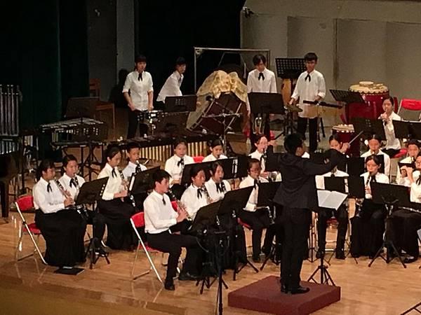 [八年級] 管樂團成果發表 (106.7.3)