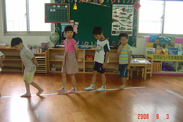 回到幼稚園入學時(106.8.23)