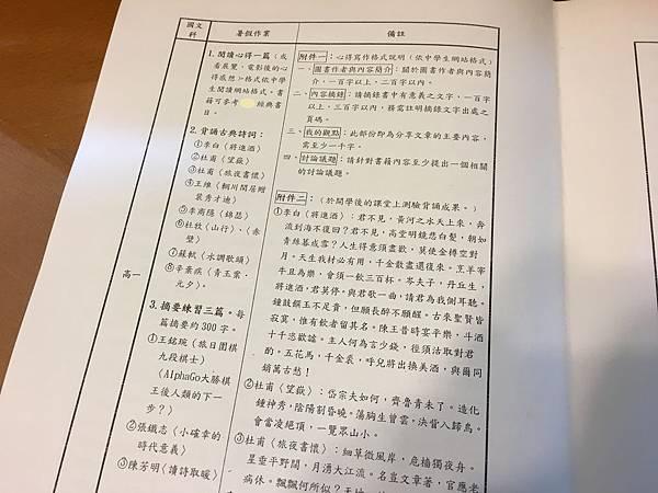[小高一] 另一份暑假作業(107.7.14)