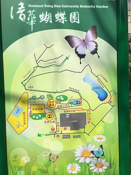 100個夢想之5 ~ 每個月造訪一個新景點:清大蝴蝶園(108.2.14)