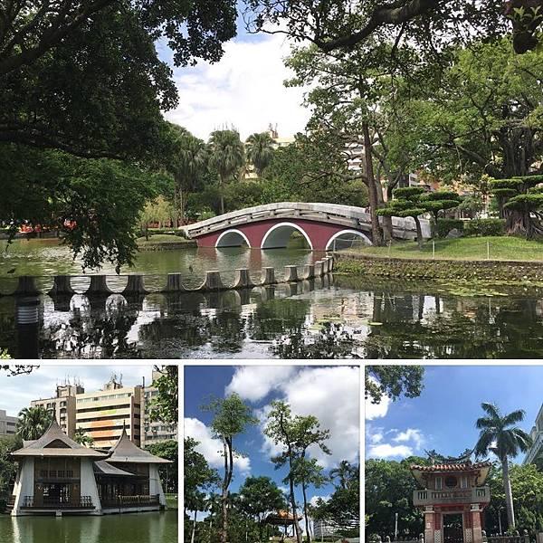 台中遊之一:台中公園,從草悟道走到國美館(108.7.8)