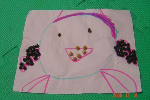 六歲的豆豆圖(98.2.13)