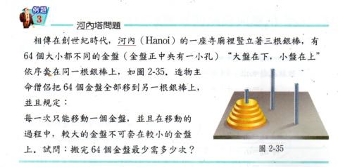 玩數學23:Hanoi Tower(99.6.20)