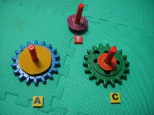 玩數學24:Hanoi Tower,n=3 的情況
