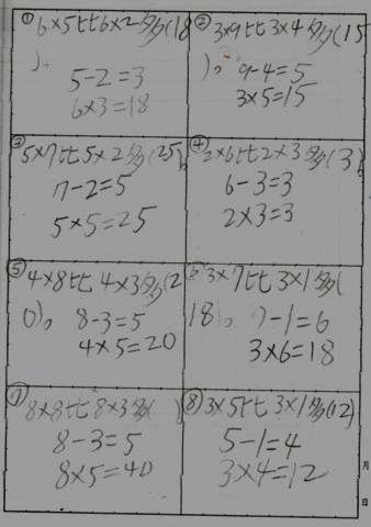 [小二]數學的乘法和減法(100.2.17)