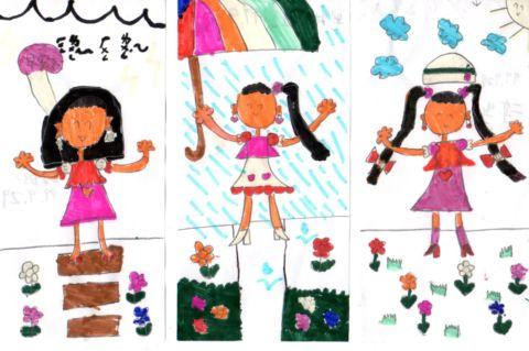 小女孩的夢幻畫(99.9.30)