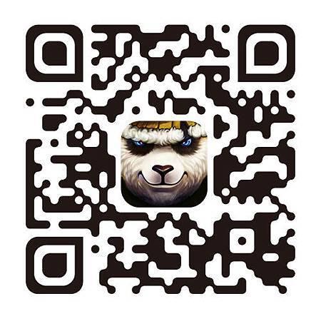 熊貓QRCODE (兇惡)
