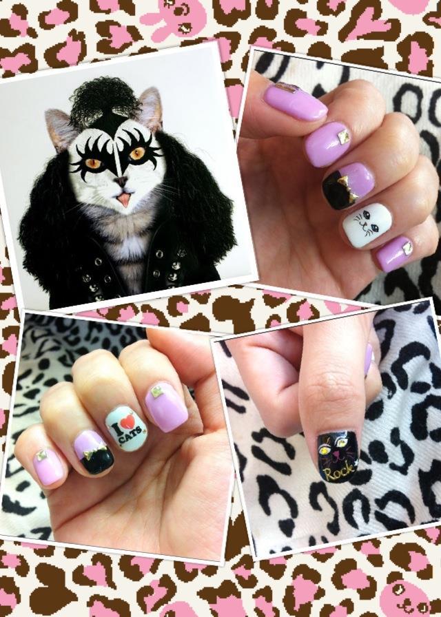 nails cat