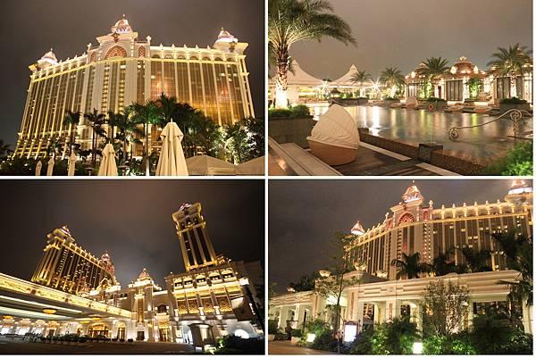 銀河酒店夜景