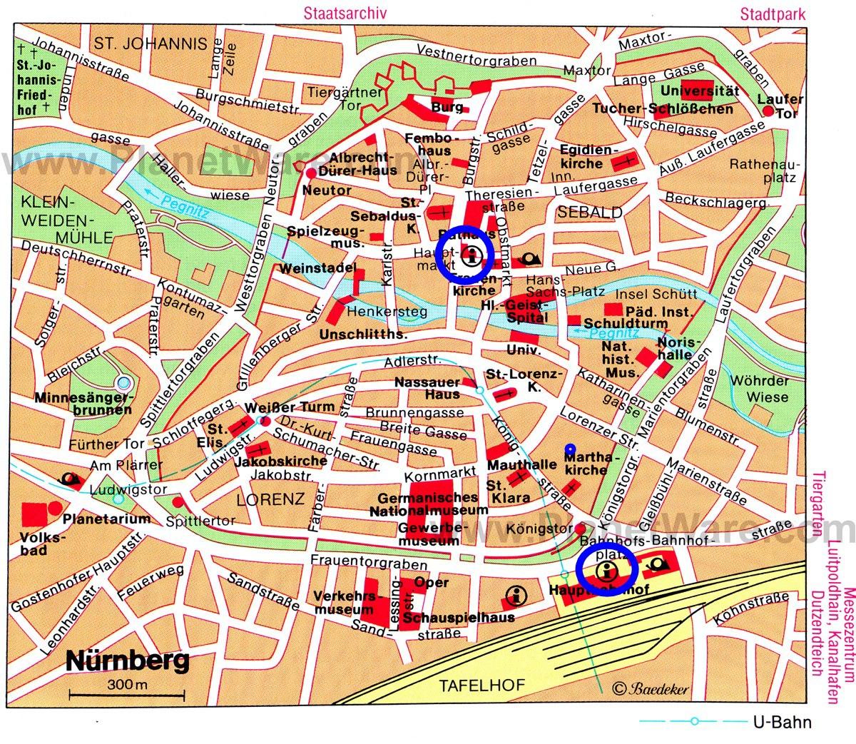 0905紐倫堡地圖