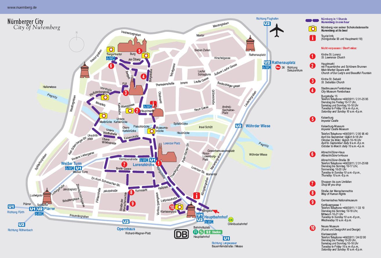0905紐倫堡觀光路線圖